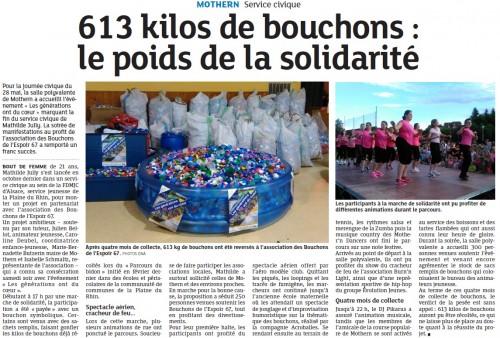 20160530 630 kilos de bouchons - le poids de la solidarit+® - Mothern