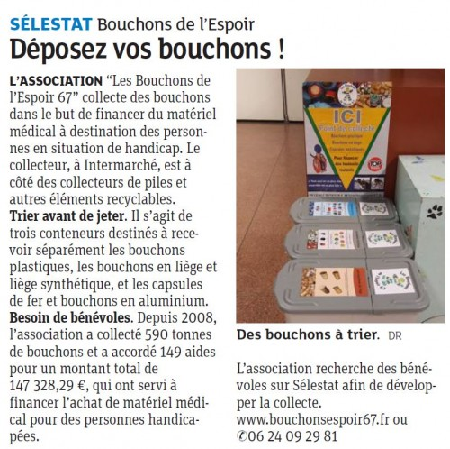 Article DNA Sélestat
