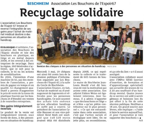 20170513 Recyclage solidaire - Bischheim